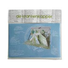 Papiergebirge Mit Zeppelin Pop Up Papier